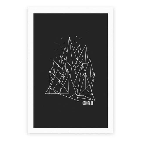 Colorado Mountains Poster