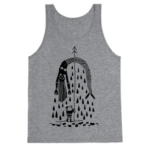 Mermaid Hunter Tank Top