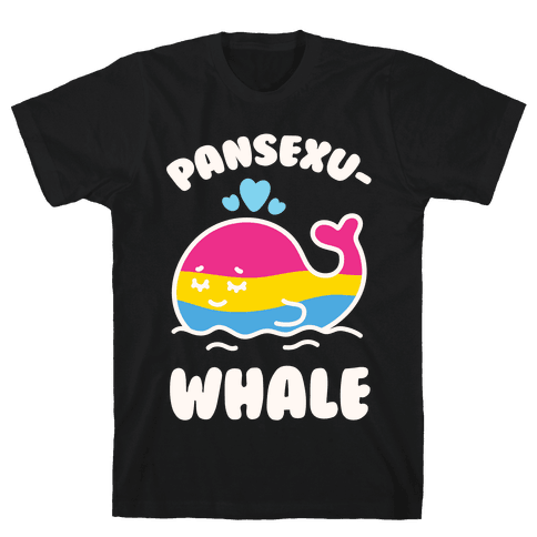 Pansexu-WHALE Mens T-Shirt