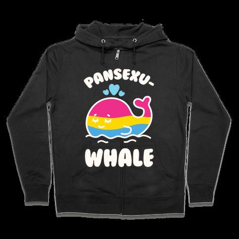 Pansexu-WHALE Zip Hoodie