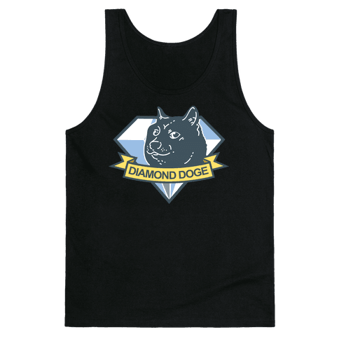 Diamond Doge Tank Top