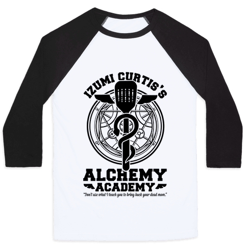 Izumi Curtis's Alchemy Academy Baseball Tee