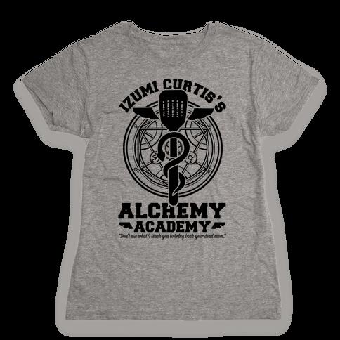 Izumi Curtis's Alchemy Academy Womens T-Shirt