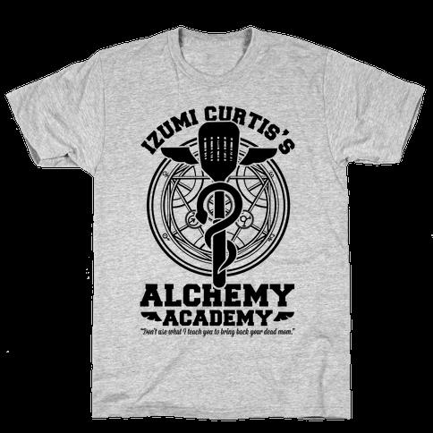 Izumi Curtis's Alchemy Academy Mens T-Shirt