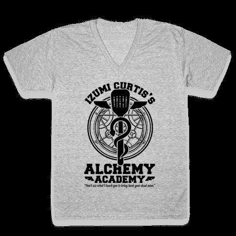 Izumi Curtis's Alchemy Academy V-Neck Tee Shirt