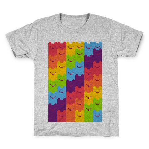 Rainbow Cats Kids T-Shirt