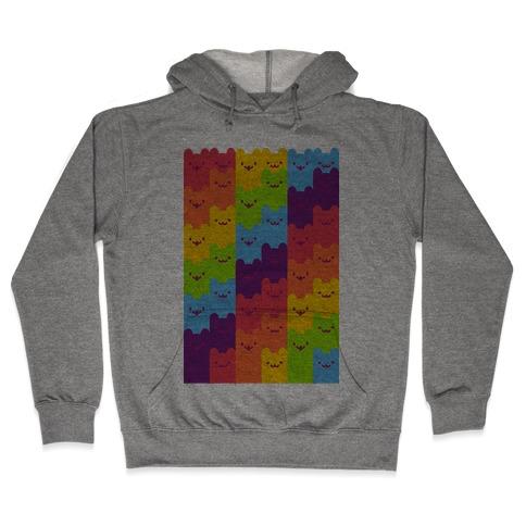 Rainbow Cats Hooded Sweatshirt