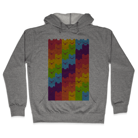Rainbow Cats Hooded Sweatshirt