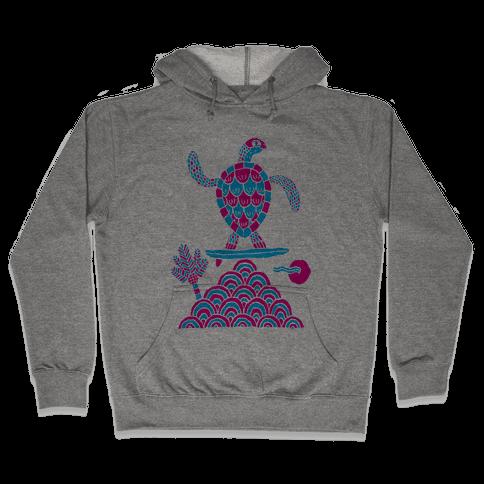 Surf Turtle Hooded Sweatshirt