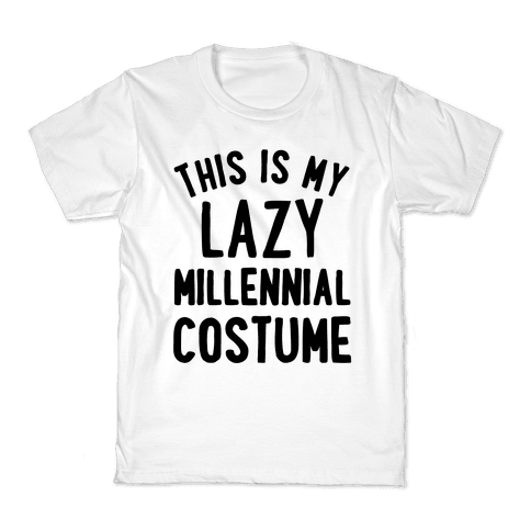This is My Lazy Millennial Costume Kids T-Shirt