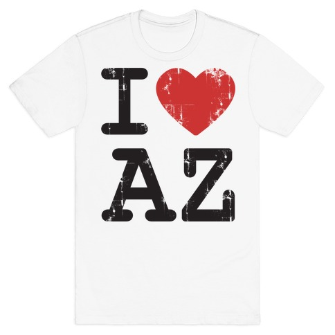 I Love Arizona Mens T-Shirt