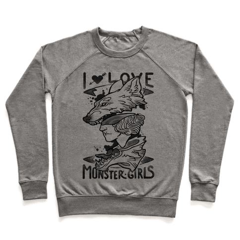 I Love Monster Girls Pullover