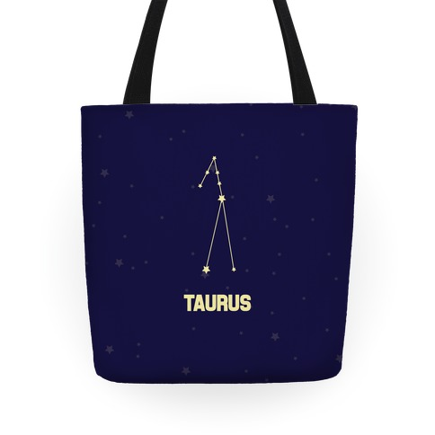 Taurus Horoscope Sign Tote