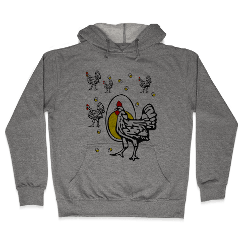 Roseanne's Chicken Shirt Hooded Sweatshirt