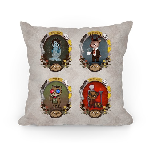 Twin Peaks Characters Pillow Pillow