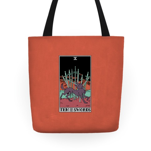 The Ten Of Swords Tote