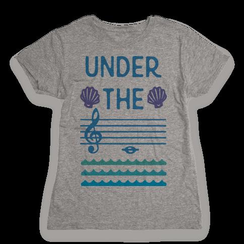 Under The C Womens T-Shirt
