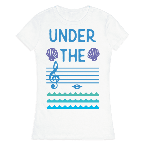 Under The C Womens T-Shirt
