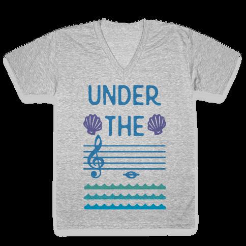 Under The C V-Neck Tee Shirt
