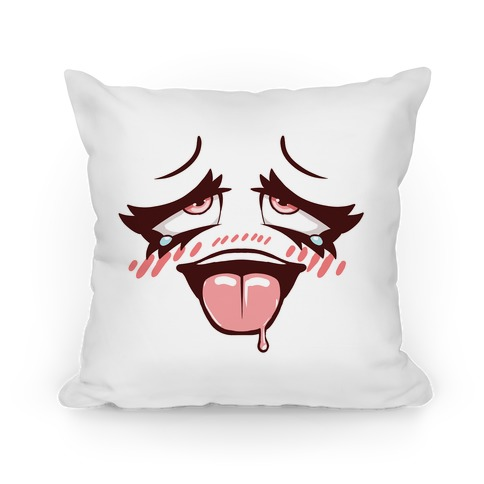 Ahegao Face Pillow