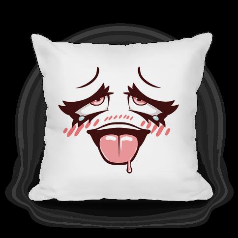 Ahegao Face Pillow
