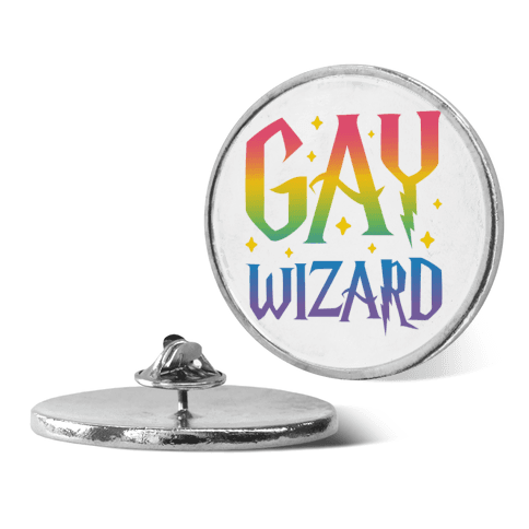Gay Wizard pin