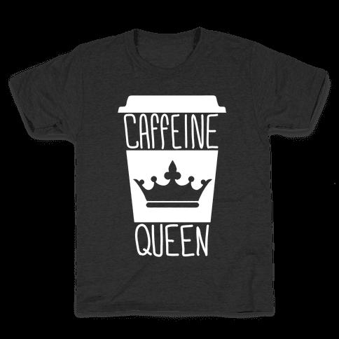 Caffeine Queen Kids T-Shirt