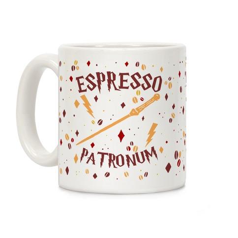 Espresso Patronum (Wand) Coffee Mug