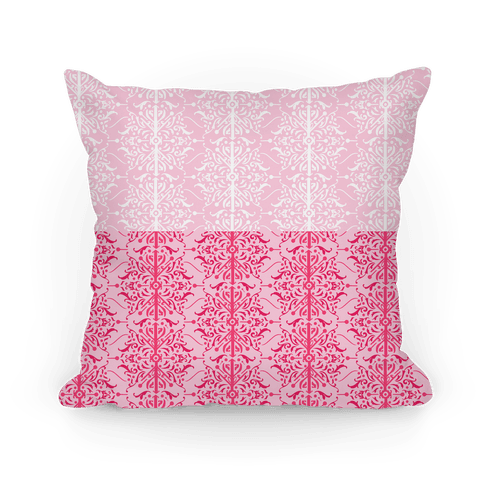 Pink Medieval Ombre Pattern