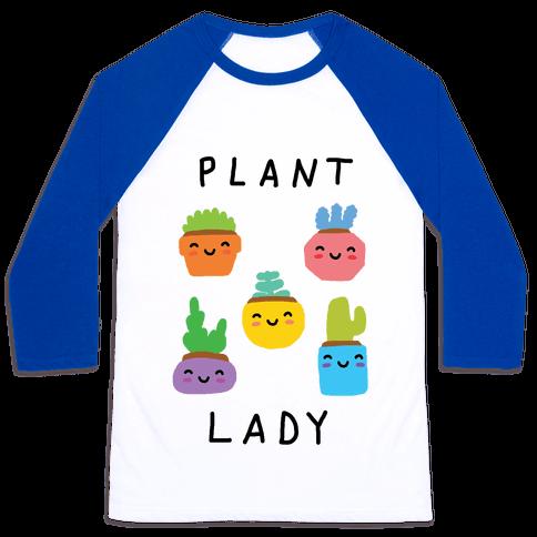 Plant Lady Baseball Tee
