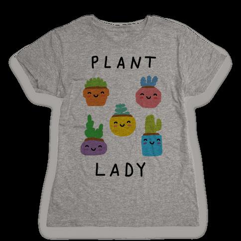 Plant Lady Womens T-Shirt