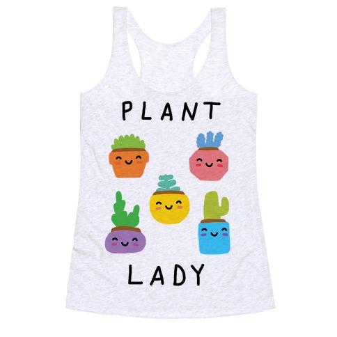 Plant Lady Racerback Tank Top