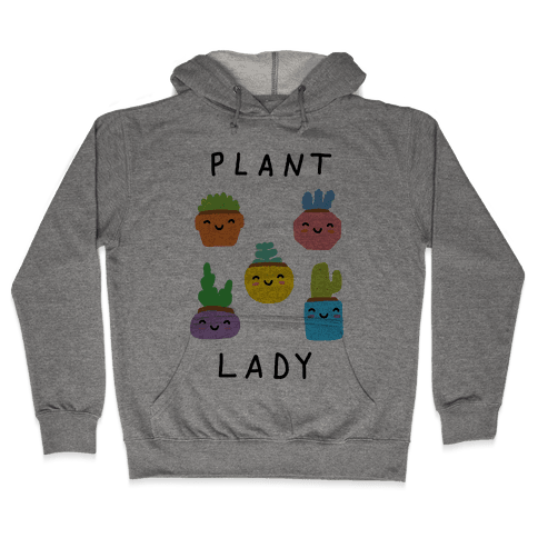 Plant Lady Hooded Sweatshirt