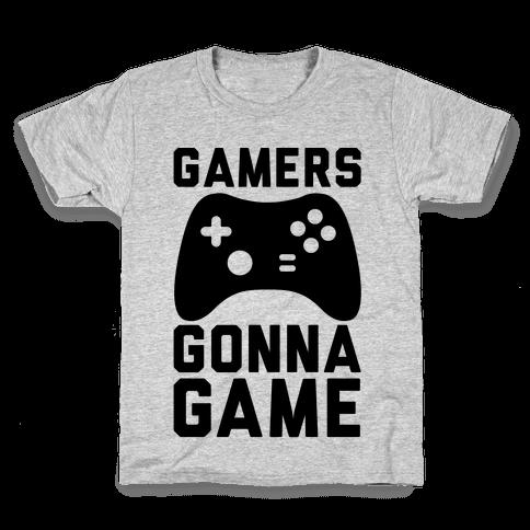 Gamers Gonna Game Kids T-Shirt