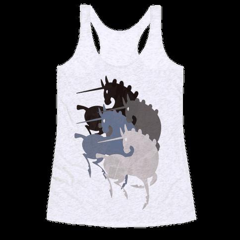 Unicorns Of The Apocalypse Racerback Tank Top