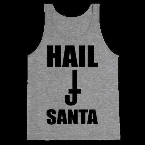 Hail Santa Tank Top