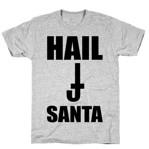 Hail Santa Mens/Unisex T-Shirt