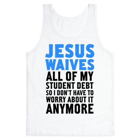 Jesus Waives Tank Top