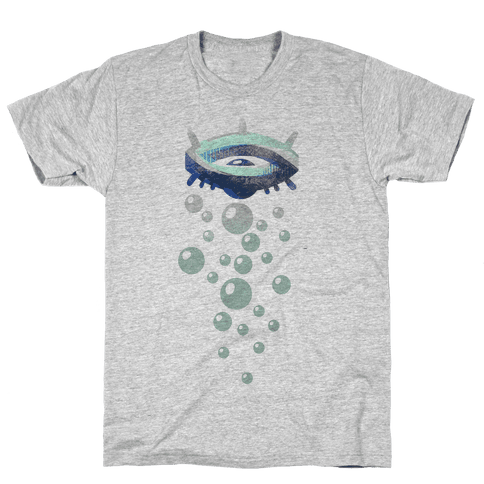 Minimalistic Tears Mens T-Shirt