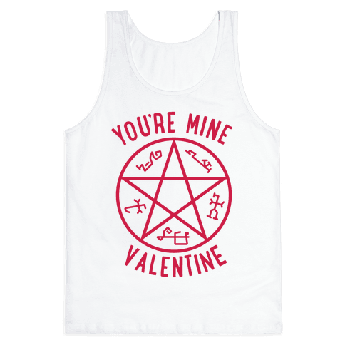 Devil's Trap Supernatural Valentine Tank Top