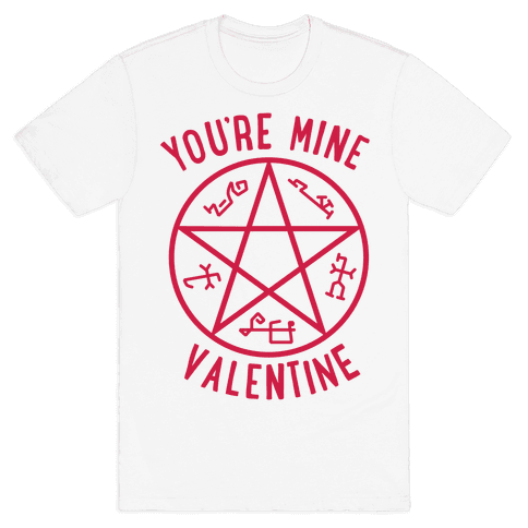 Devil's Trap Supernatural Valentine Mens T-Shirt