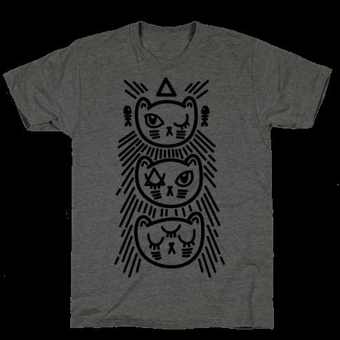 Occult Kitties Mens T-Shirt