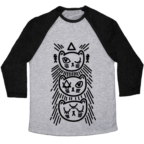Occult Kitties Baseball Tee