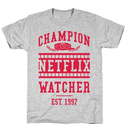 Champion Netflix Watcher T-Shirt
