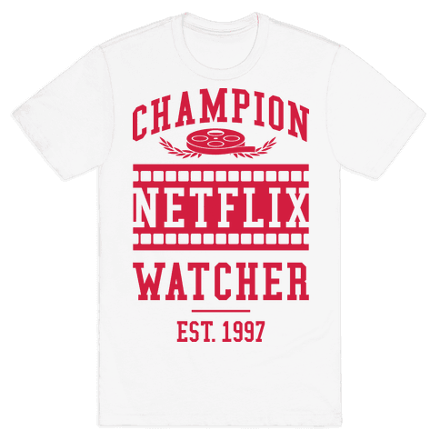 Champion Netflix Watcher Mens T-Shirt
