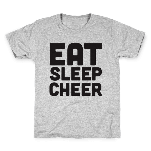 Eat Sleep Cheer Kids T-Shirt