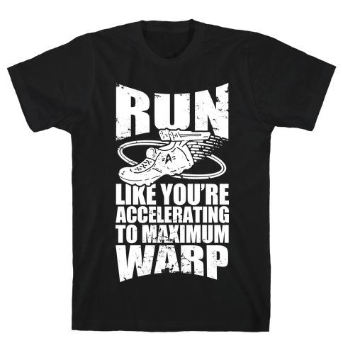 Accelerating to Maximum Warp T-Shirt