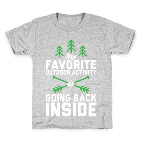 Outdoor Activity Kids T-Shirt