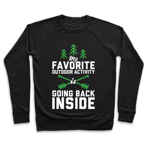 Outdoor Activity Pullover