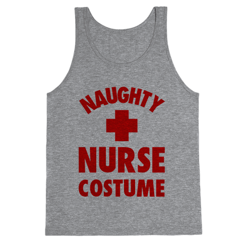 Naughty Nurse Costume Tank Top